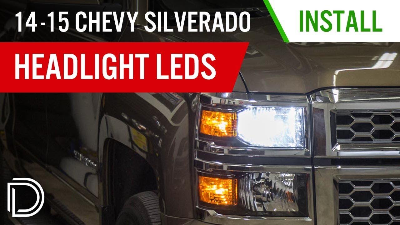 Low Beam LED Headlights for 2007-2015 Chevrolet Silverado (pair)