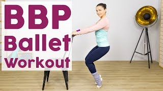 Für eine schlanke Figur: Ballett Workout für Beine & Po