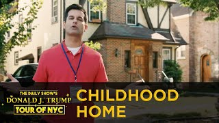 The Daily Show's Donald J. Trump Tour of NYC - Trump's Childhood Home