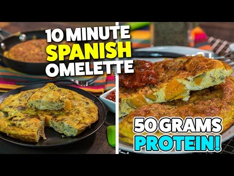 How to make a quick spanish omelette
