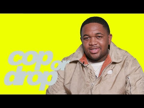 DJ Mustard Plays 'Cop or Drop' With Travis Scott Reese's Puffs & Balenciaga Trainers