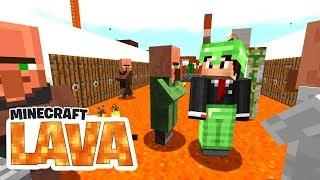 Wir bauen eine Eisenfarm! Nie wieder Sieben?! - Minecraft LAVA #14