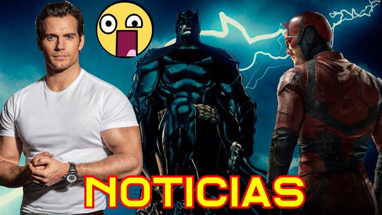 Comic JL Snyder Cancelado/ Henry Cavil Se Va Y Daredevil ? - alejozaaap