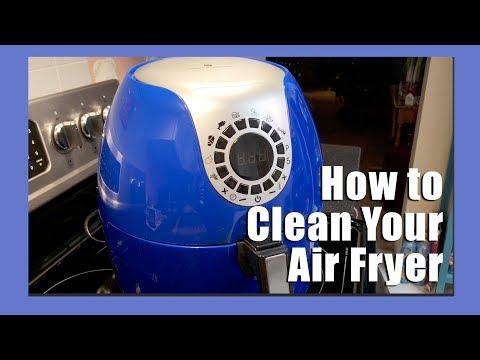 🍟 How to clean an air fryer   Cooks Essentials Air Fryer 🍟
