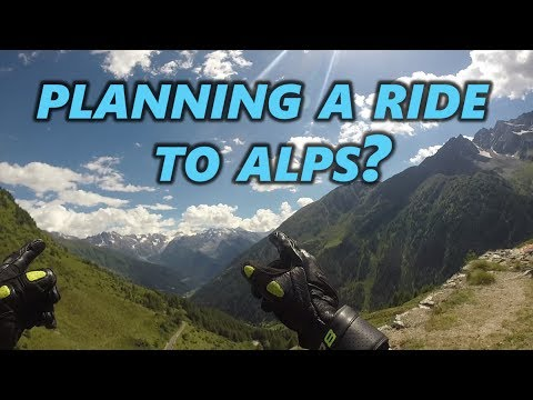 The Alpine Odyssey : Trip details | Some tips for your next motorcycle ride to Alps