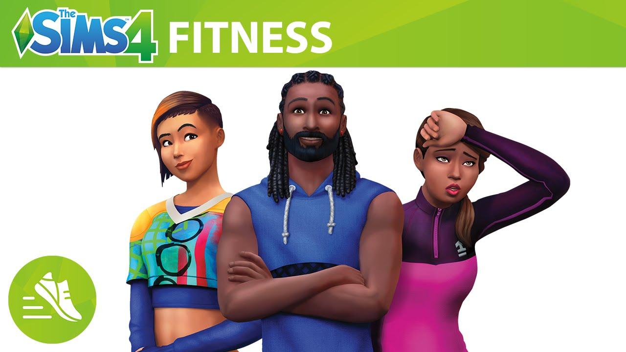 Výsledek obrázku pro the sims 4 fitness kolekce