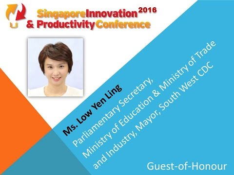SIPC Guest-of-Honour - Ms. Low Yen Ling, Minister of Trade & Industry