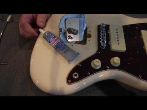 How to fix a creaking Fender Jazzmaster/Jaguar Tremolo