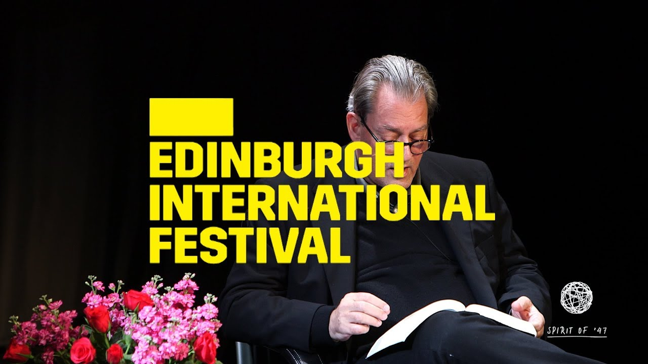 Paul Auster at the Edinburgh International Book Festival and ...