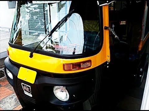All New Bajaj RE Compact Diesel Auto Rickshaw Complete Review