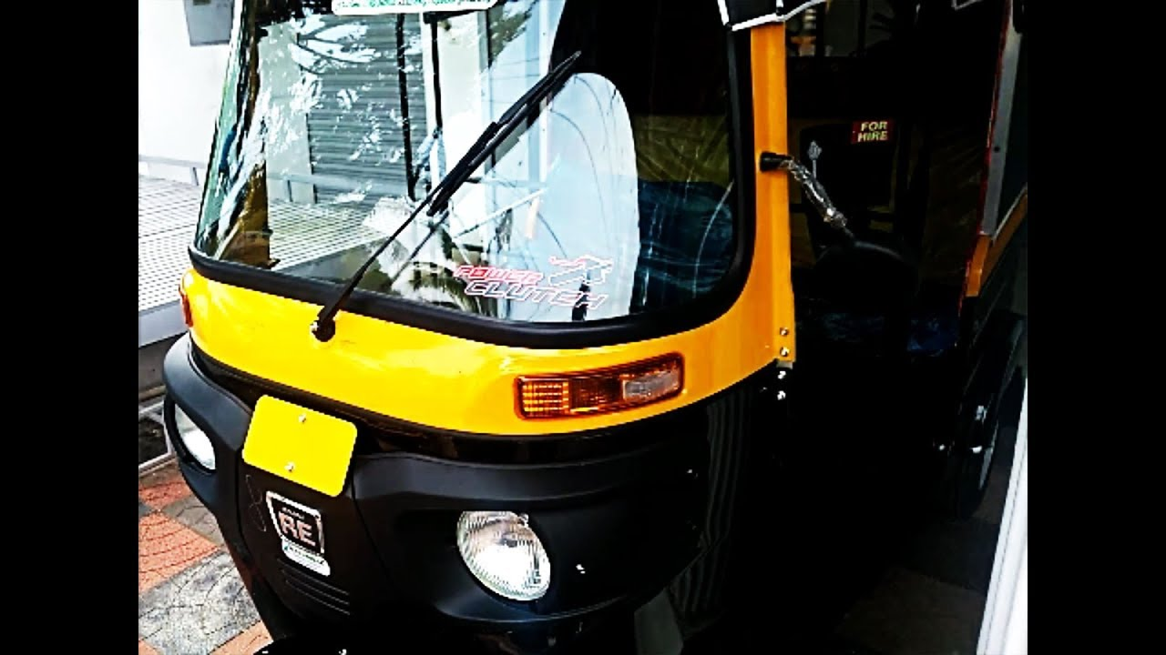 All New Bajaj Re Compact Diesel Auto Rickshaw Complete Review Youtube