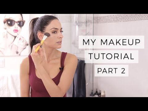 My Natural Makeup Tutorial - Part 2 - 2018 | Dr Mona Vand