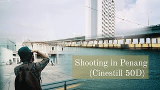 Shooting in Penang with Cinestill 50D - Nikon F3