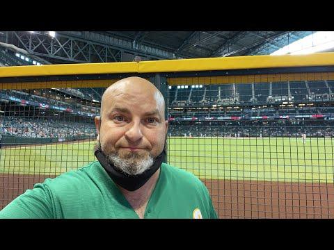 Oakland Athletics at Arizona Diamondbacks at Chase Field in Phoenix by Richard Haick https://youtu.be/yLybujGsmqE