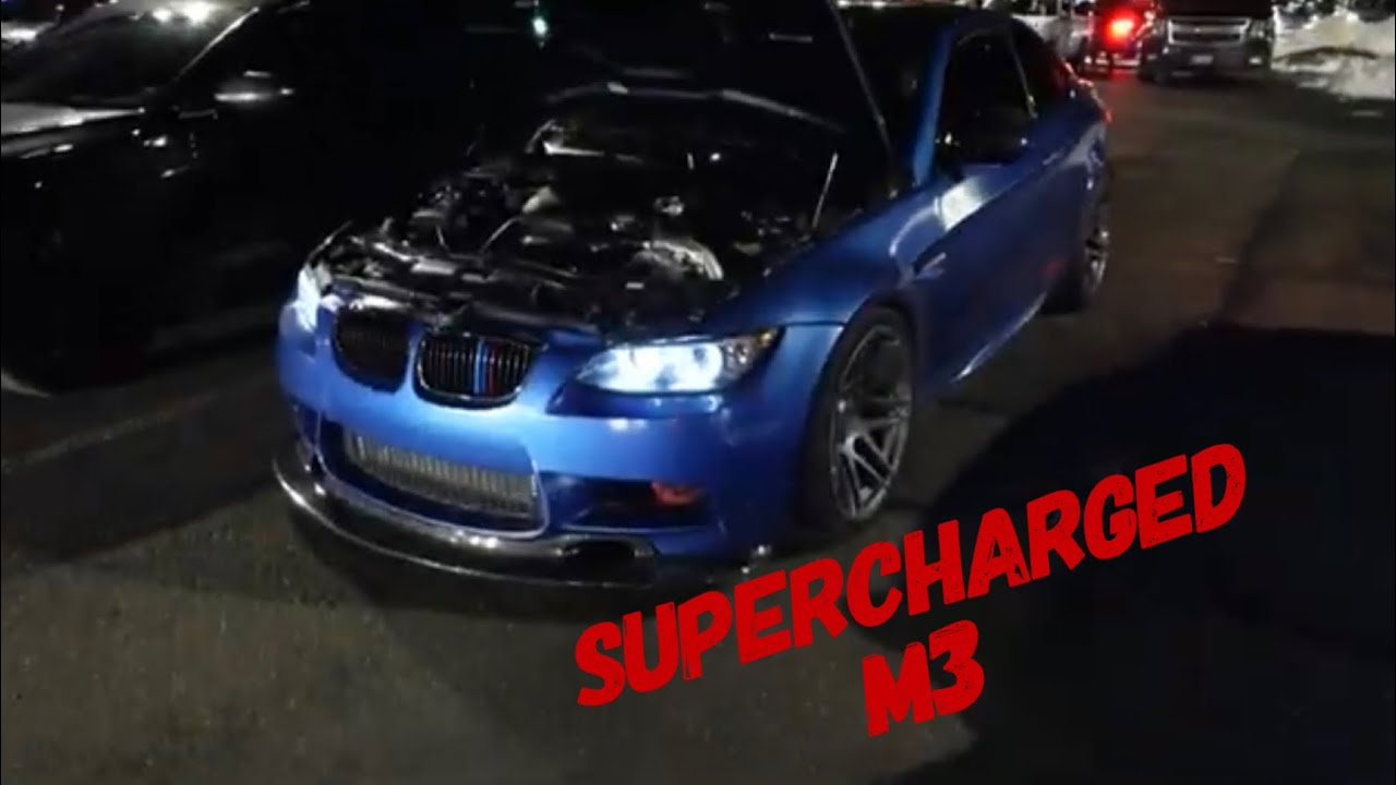 Supercharged M3 Vs 335XI Mexico Days!