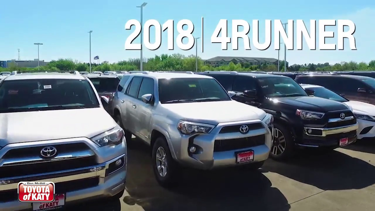 Toyota Of Katy >> Toyota 4runner Don Mcgill Toyota Of Katy Near Richmond Tx