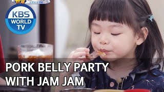 Pork belly party with Jam Jam [The Return of Superman/2020.03.29]