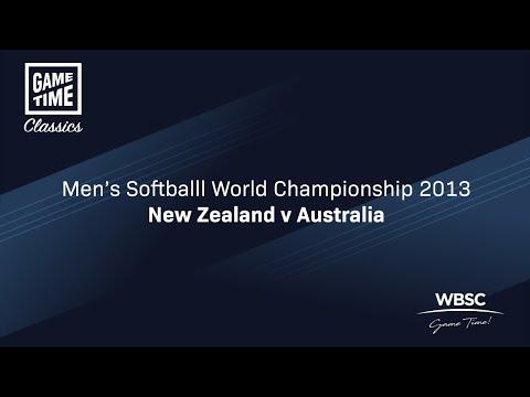 New Zealand v Australia - Men's Softball World Championship 2013