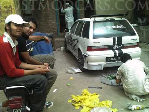 Modified Suzuki Cars In Pakistan Youtube