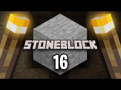 Minecraft: StoneBlock Survival Ep. 16 - TO INFINITY AND BEYOND