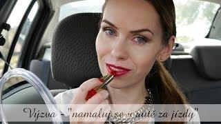 Výzva - namaluj se v autě za jízdy / Makeup in the car