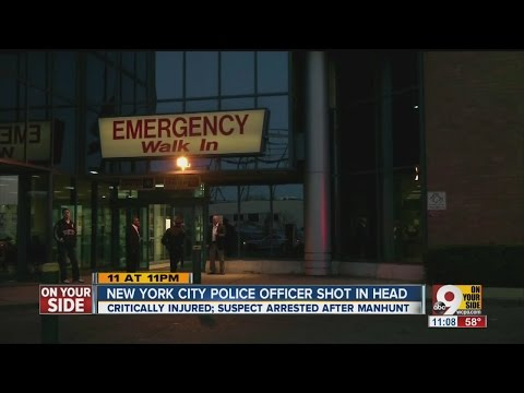 NYPD officer critically wounded after shooting, suspect in custody