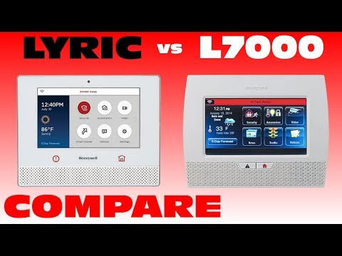 Honeywell Lyric Controller vs L7000: Compare & Contrast Features