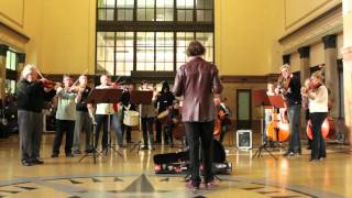 Gambar cover New Zealand Symphony Orchestra Flashmob playing Good for Nothing Soundtrack