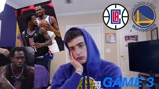 kevin durant silences a warriors hater... warriors clippers game 3 reaction