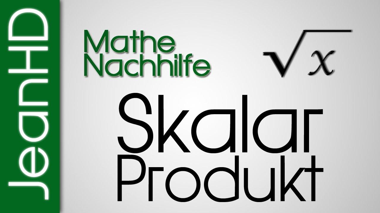 mathe nachhilfe skalarprodukt vektoren analytische geometrie youtube. Black Bedroom Furniture Sets. Home Design Ideas