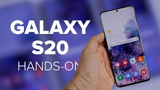 Samsung Galaxy S20-Serie im Praxis-Test: Das Hands-On | deutsch