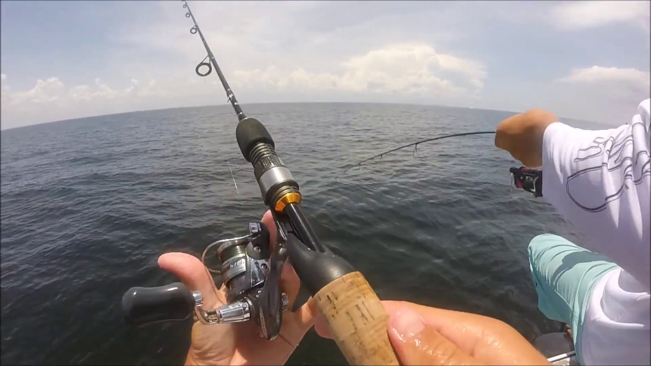 Shark fishing with ice rods youtube for Shark fishing rod