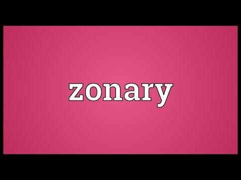 Header of zonary