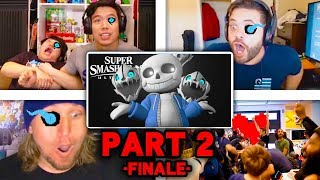 All Reactions to SANS Reveal Trailer [PART 2 - FINALE] - Super Smash Bros. Ultimate