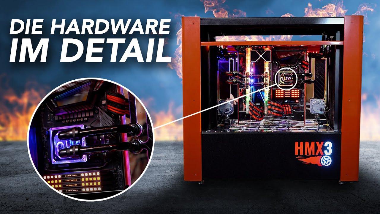 HMX3 - Alle Komponenten des 16.000€ Gaming-PCs | Höllenmaschine