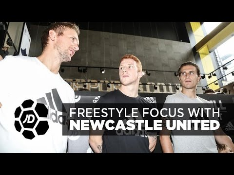 JD Football Freestyle Focus With Jack Colback, Daryl Janmaat and Siem De Jong