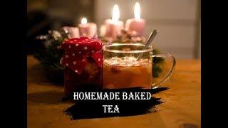 Homemade baked tea
