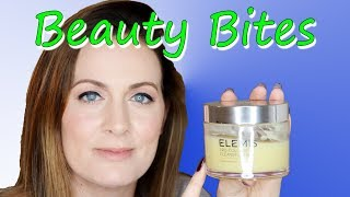 Beauty Bites: Elemis Pro Collagen Cleansing Balm! - THE BEST CLEANSER (2018) | Claire Tutorials