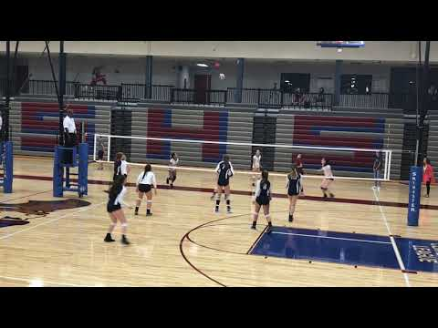 Camryn Turner#3 Seaman high school freshman year vb 1