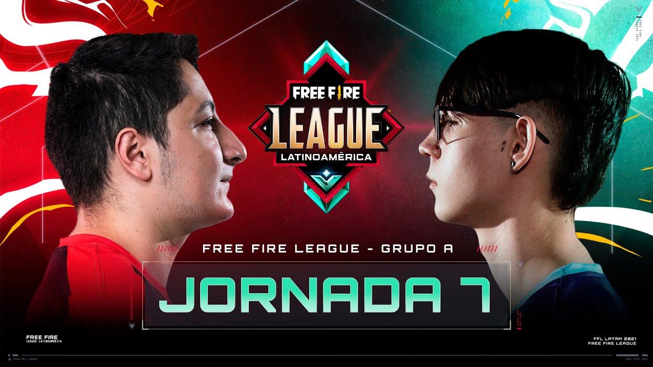 Download ¡Jornada 7 de la Free Fire League 2021! 🔥   Grupo A - Clausura