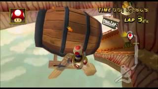 [Mario Kart Wii 300ccTAS] Maple Treeway 44.584 (glitch)