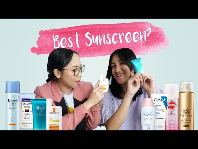 SUNSCREENS REVIEW | Airfrov Indonesia