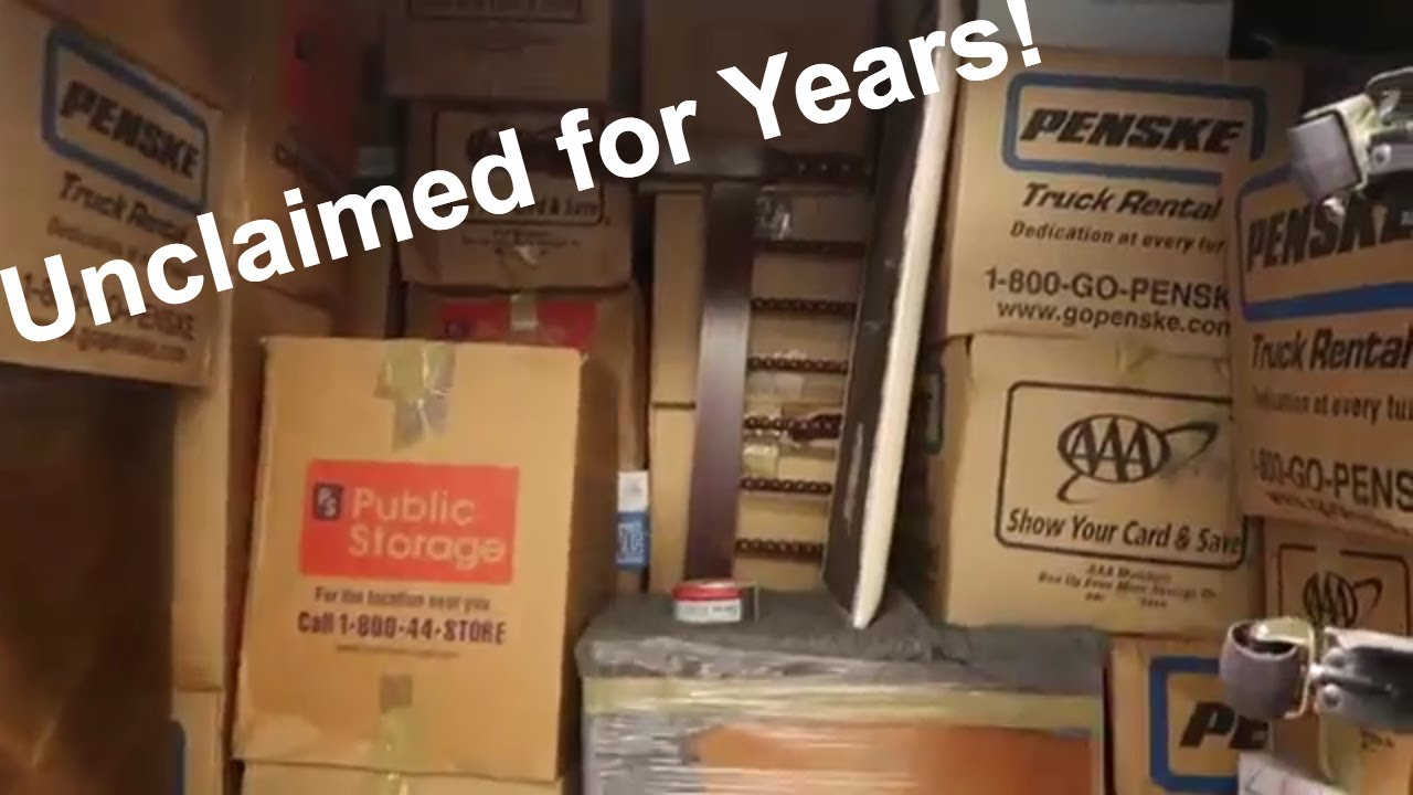 I bought A VINTAGE Abandoned Storage Unit    Unclaimed for Years!