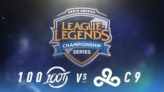 Video 100 vs. C9 - Week 6 Day 1 | NA LCS Spring Split | 100 Thieves vs. Cloud9 (2018) download MP3, 3GP, MP4, WEBM, AVI, FLV Juni 2018