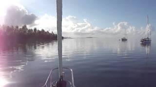 Tahanae Atoll Passes