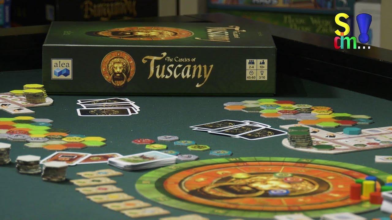 Spiel doch mal THE CASTLES OF TUSCANY! - Brettspiel Rezension Meinung Test #349