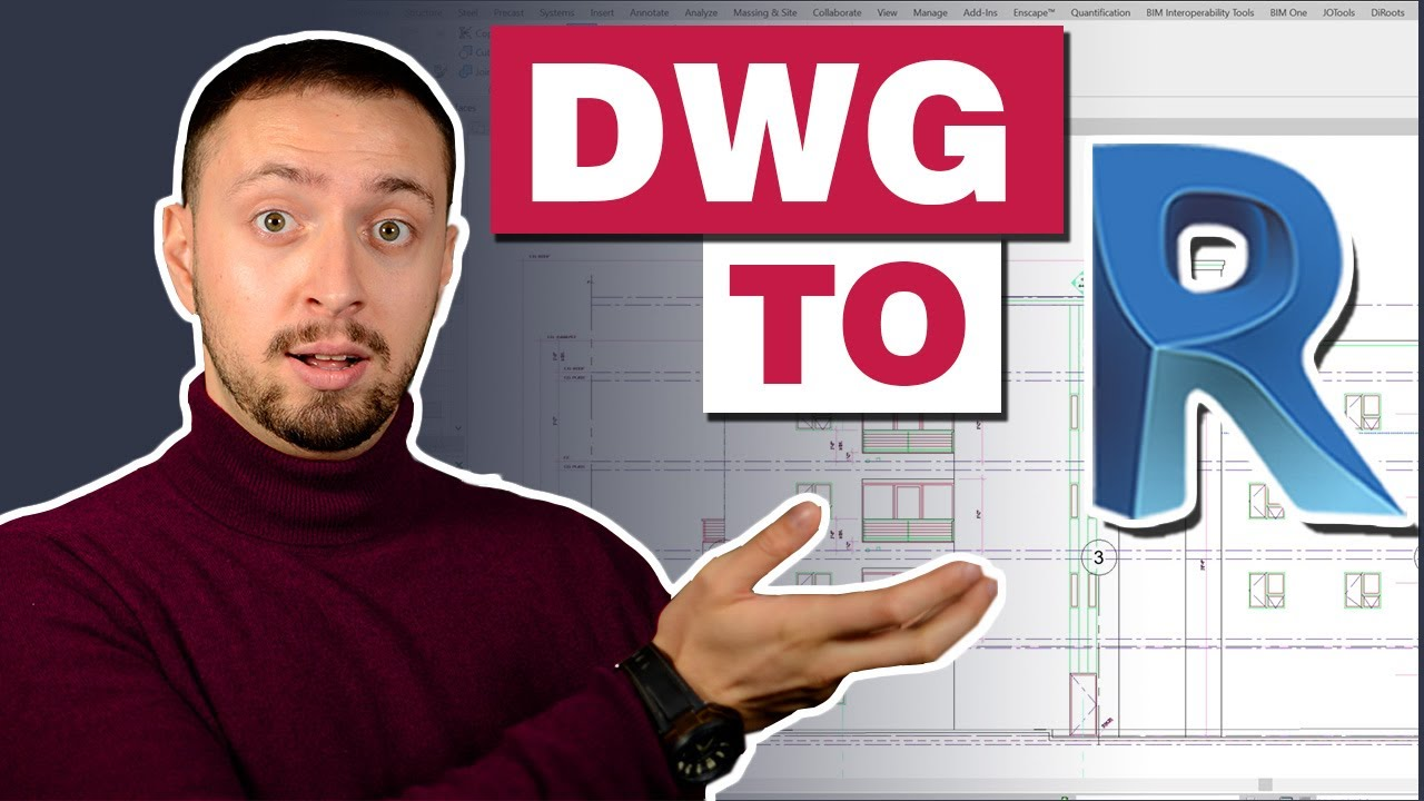 DWG to Revit | Importing and Linking DWG for Revit Collaboration