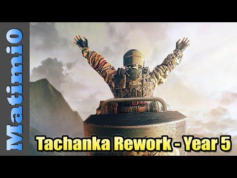 Tachanka Rework Is Happening! - Year 5 Update - Rainbow Six Siege