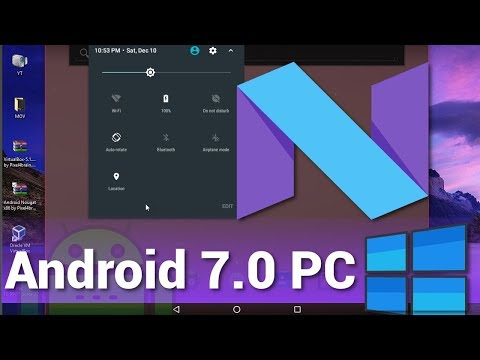 How to install android 7. 0 nougat on pc with cm14 based android.