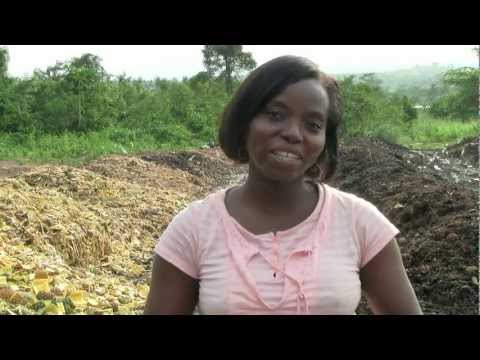 Farming with compost in Africa